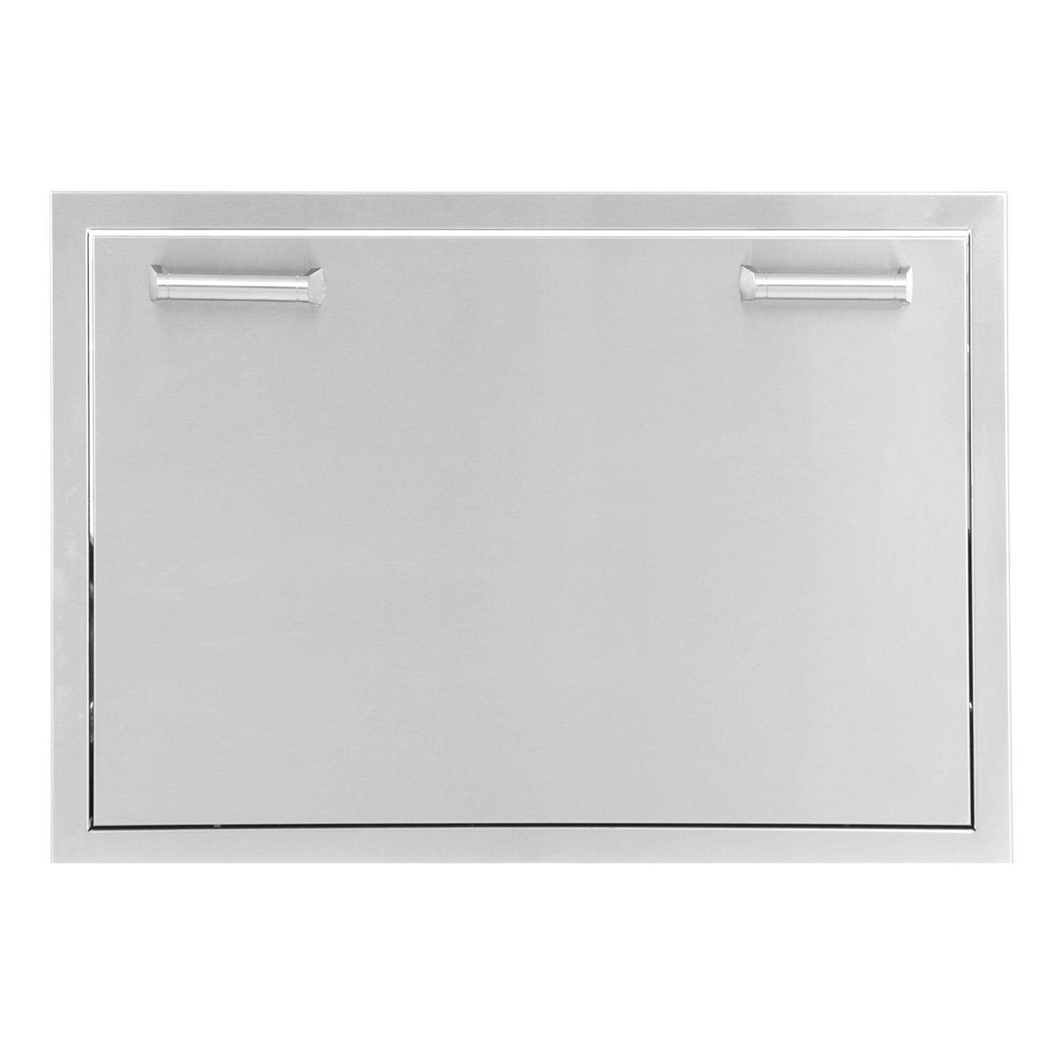 BBQGuys Sonoma Series 30-Inch Stainless Steel Roll-Out Ice Chest Storage Drawer