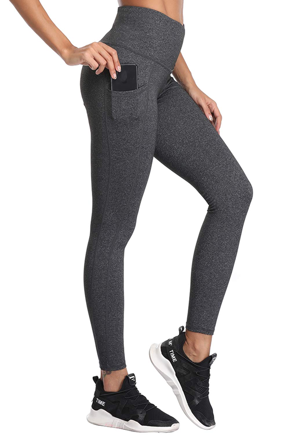 BESTENA Yoga Pants, Womens Leggings High Waist Tummy Control Workout Running Pants with Pockets