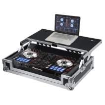 Gator Cases G-TOUR Series DJ Controller Road Case with Sliding Laptop Platform - Custom Fit for Pioneer DDJ-SR; (G-TOURDSPDDJSR)