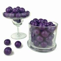 Color It Candy Purple 1 inch Gumballs 2 Lb Bag - Perfect For Table Centerpieces, Weddings, Birthdays, Candy Buffets, & Party Favors.