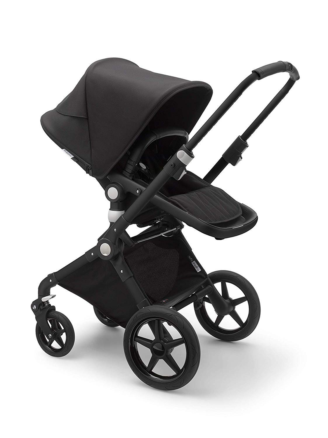 Bugaboo Lynx - The Lightest Full-Size Baby Stroller - All-Terrain Stroller with an Effortless Push and One-Handed Steering - Compatible with Bugaboo Turtle by Nuna Car Seat - Black
