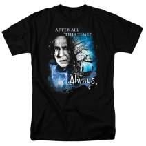 Harry Potter Professor Snape Always T Shirt & Stickers