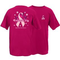 Peace Frogs Celebrate Life Frog Adult Short Sleeve T-Shirt (Pink, XX-Large)