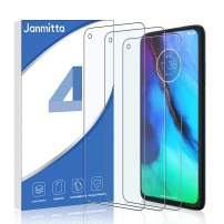 [3 Pack] Janmitta Screen Protector for Motorola Moto G Stylus/Moto G8 Power/Moto G Power, HD Clear Anti-Scratch No-Bubble Tempered Glass Film for Motorola Moto G Stylus