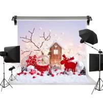 Kate 10x6.5ft/3m(W) x2m(H) Christmas Backdrops Photography Christmas Deer Backdrops Santa Claus Crystal Ball Backgrounds Photo Photography Studio