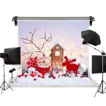 Kate 10x6.5ft/3m(W) x2m(H) Christmas Backdrops Photography Christmas Deer Backdrops Santa Claus Crystal Ball Backgrounds Photo Photography Studio