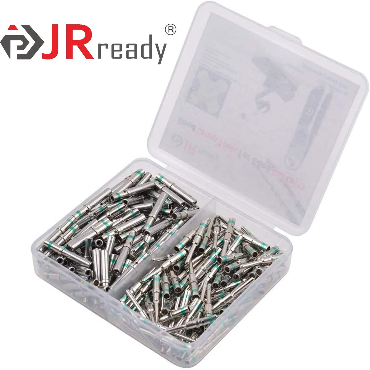 30 Pair Male 0460-215-16141//Female 0462-209-16141 Solid Contacts Wire Gauge 14 by JRready Deutsch Terminal Kit Contact Size 16