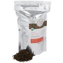 Golden Moon Tea - Tippy Earl Grey Loose Leaf Tea | Fresh All Natural Revitalizing Flavor & Aroma | Real Italian Bergamot Peels & Extract | 96 Servings of Earl Grey Organic English Style Tea
