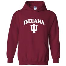 NCAA Officially Licensed College - University Team Color Arch Logo Hoodie