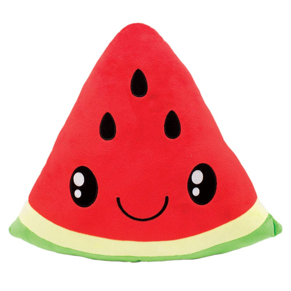 Scentco Smillows - Scented Stuffed Pillow, Kid's Room Decor, Gift - Watermelon