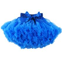 BUENOS NINOS Baby Girl's Solid Color Dance Tutu Pettiskirt 1-10T