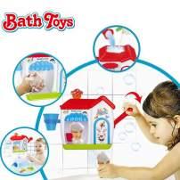 Happytime Ice Creams Bubble Bathtub Toy Bathroom Foam Cone Factory Making Ice Creams Bubble Machine Bathtub Water Toys for Baby (No Batteries Required)…