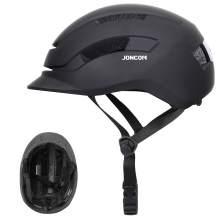 Joncom Adult Bike Helmet Men Women with Rear Light, Adjustable Bicycle Helmet for Urban Commuter