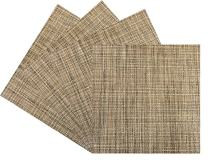 Benson Mills Tweed Woven Vinyl Placemat (Set of 4), Natural