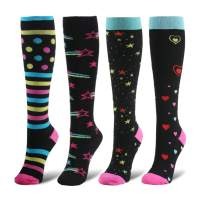Compression Socks Women & Men - 1/4/6 Pairs Graduated Stockings Best for Running, Medical, Athletic, Pregnancy, Travel