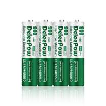 Deleepow AAA Rechargeable Batteries 900mAh, 1200 Cycles Ni-MH Double A Rechargeable Battery 4-Pack …