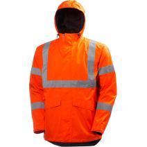 Helly-Hansen Workwear Men's Alta Shelter Jacket Outerwear, high gh/vis
