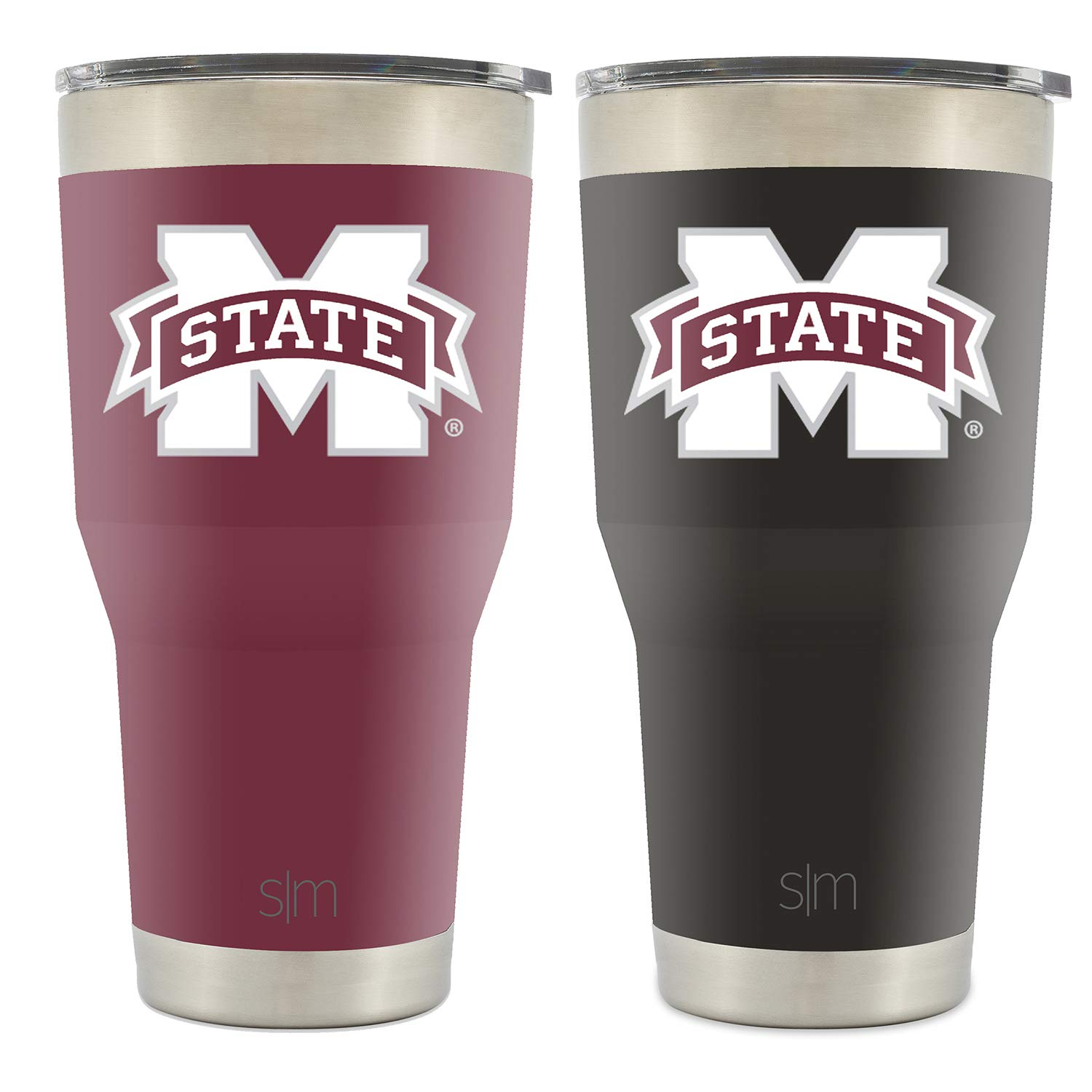 Simple Modern College Tumbler Mississippi State