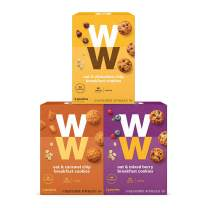 WW Breakfast Cookie Variety Pack - Oat & Mixed Berry, Oat & Chocolate Chip and Oat & Caramel Chip - 3 SmartPoints - Weight Watchers Reimagined