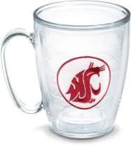 Tervis Washington State University Emblem Individual Mug, 16 oz, Clear - 1048908