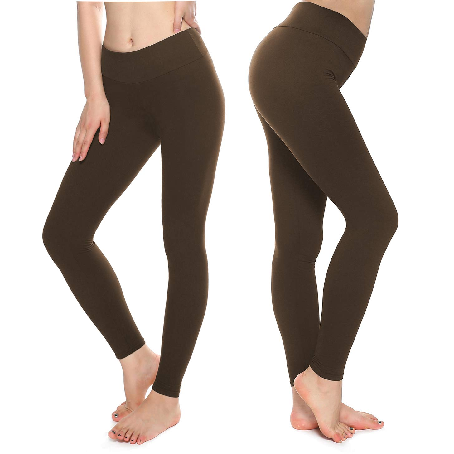 KT Buttery Soft Leggings for Women - High Waisted Leggings Pants with Pockets - Reg & Plus Size