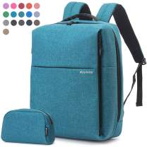 Travel Laptop Business Backpack, Anti Theft Water Resistant College School Computer Bagpack, Gifts for Men & Women Fits 15.6 Inch Notebook with USB Charging Port Bonus a Small pencil Case, Green