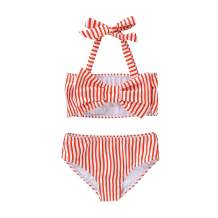 NZRVAWS Toddler Baby Girls Swimsuit Cute Bathing Suit Two Piece Summer Bikini Infant Swimwear Clothes Gift for Kid Girl