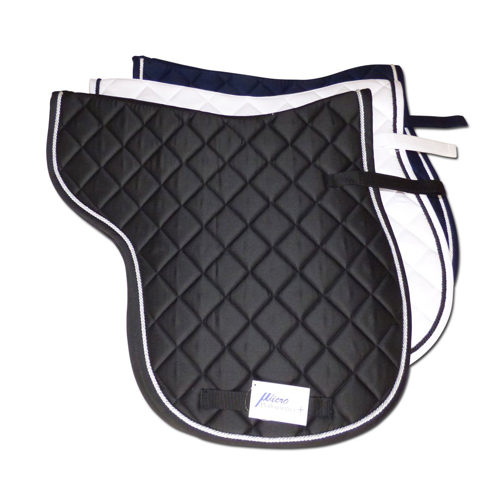 MicroPerformance+ Advanced Numnah Saddle Pads AP English Pads Suitable for Hacking, Jumping and Everyday Riding. Breathable with Sweat Absorbing Qualities.