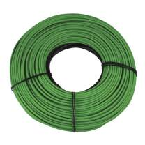 WarmlyYours 125.5 ft Snow Melting Cable for Embedding in Concrete, Asphalt and Mortar Under Pavers (120V), ft. (31.4 sq. ft.)