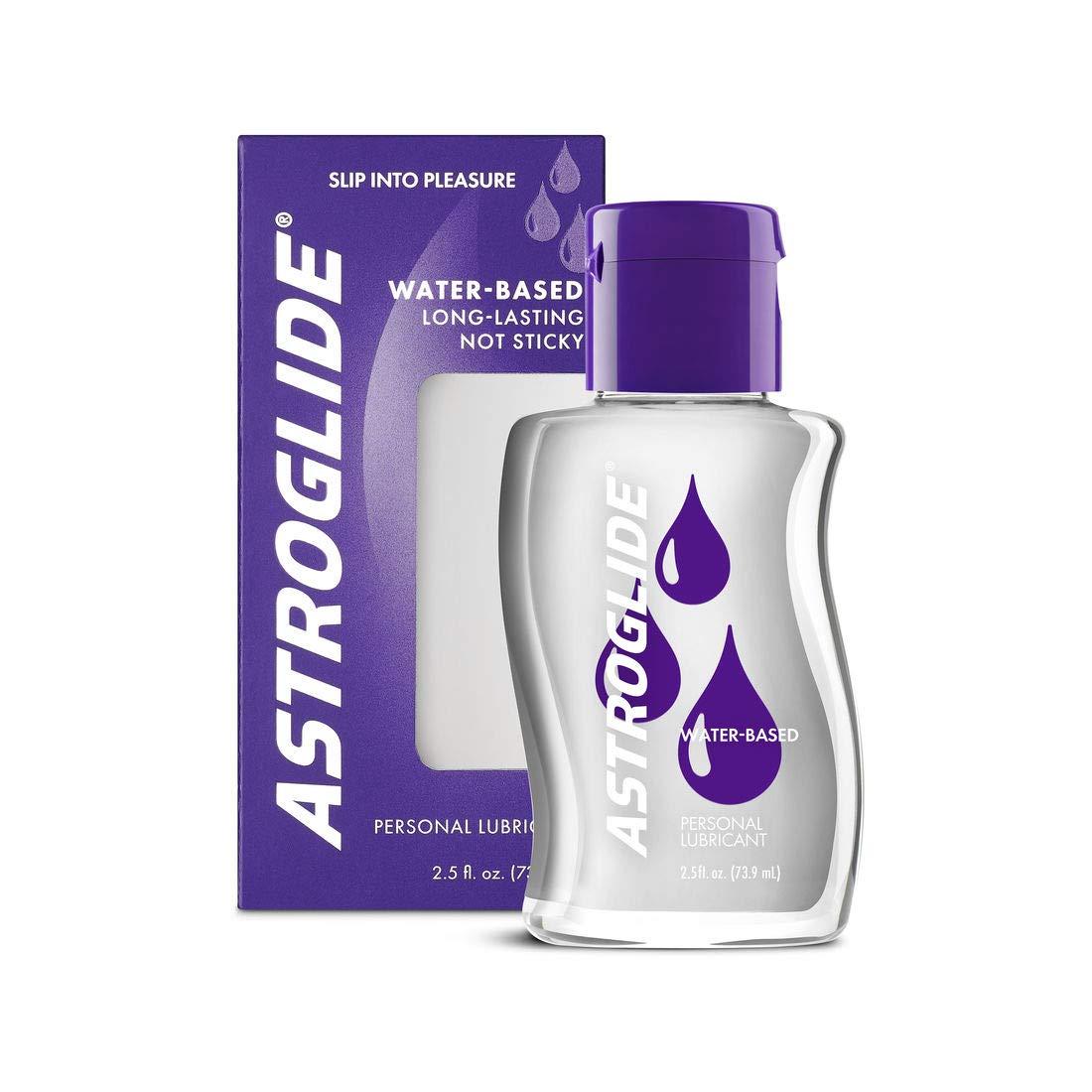 Astroglide Liquid, Water Based Personal Lubricant, 2.5 oz.