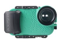 AquaTech AxisGO iPhone 11 Pro/iPhone Xs/iPhone X Waterproof Phone Housing for Underwater Action Photography Snorkeling Surfing Travel Case - Seafoam Green