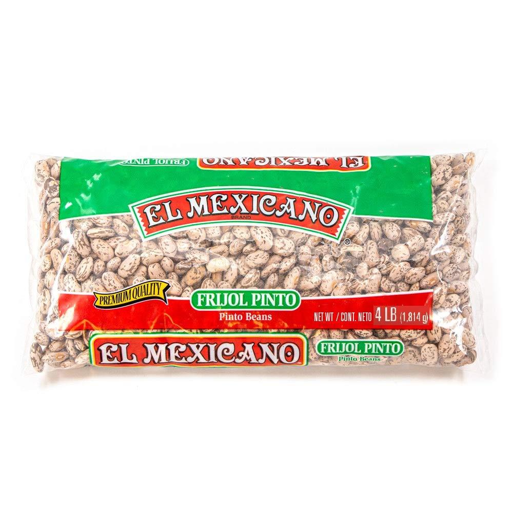 El Mexicano Pinto Beans (4lb 4 pack)