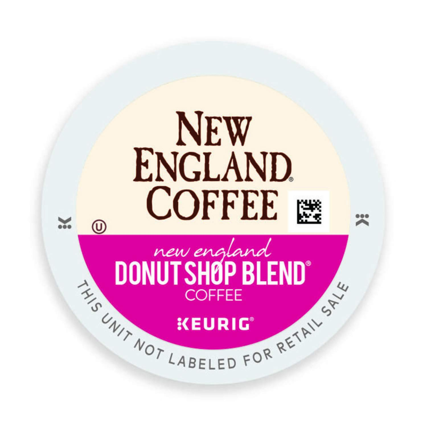 New England Coffee Single Serve K-Cup, New England Donut Shop, 36 Count