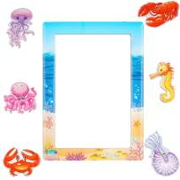 Jellyfish Fridge Magnets,Locker Magnets for Classroom Whiteboard Fun Decoration Cute Gifts for Kids Toddlers Adults