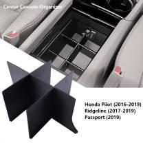 EDBETOS Center Console Organizer Insert for Honda Pilot 2016-2019 2020 / Honda Ridgeline 2017-2020/ Honda Passport 2019-2020 - Honda Console Accessories