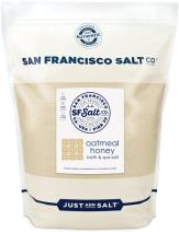 Oatmeal Honey Bath Salts 20 lb. Bag - San Francisco Salt Company