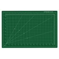 """Professional Cutting Mat 12""""x 18"""" PVC Self-Healing Cutting Mat Ideal Fabric Paper,Vinyl,Plastic Double-Sided Cutting Boards Scale Surface Non Slip Rotary Mat for Craft,Quilting,Sewing,Scrap Booking"""