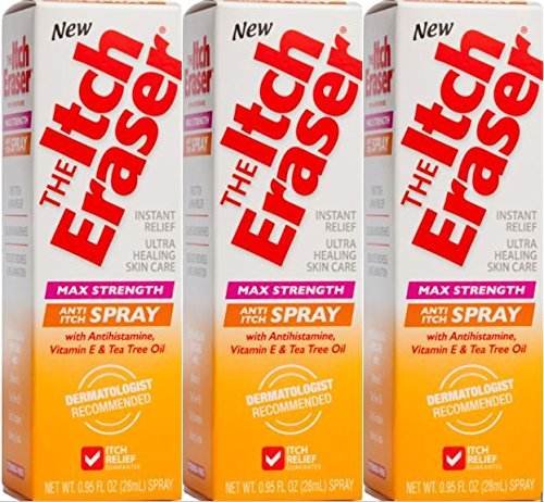 The Itch Eraser Spray Insect Bite Treatment, 0.95 Ounce  (Pack of 3)