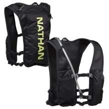 Nathan QuickStart Hydration Pack Running Vest. 4L Storage with 1.5L (1.5 Liter) Bladder Included. for Men and Women. Adjustable Straps. Phone Holder Pockets, Zippers