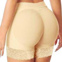 FLORATA Women Butt Lifter Padded Shapewear Enhancer Control Panties Body Shaper Underwear