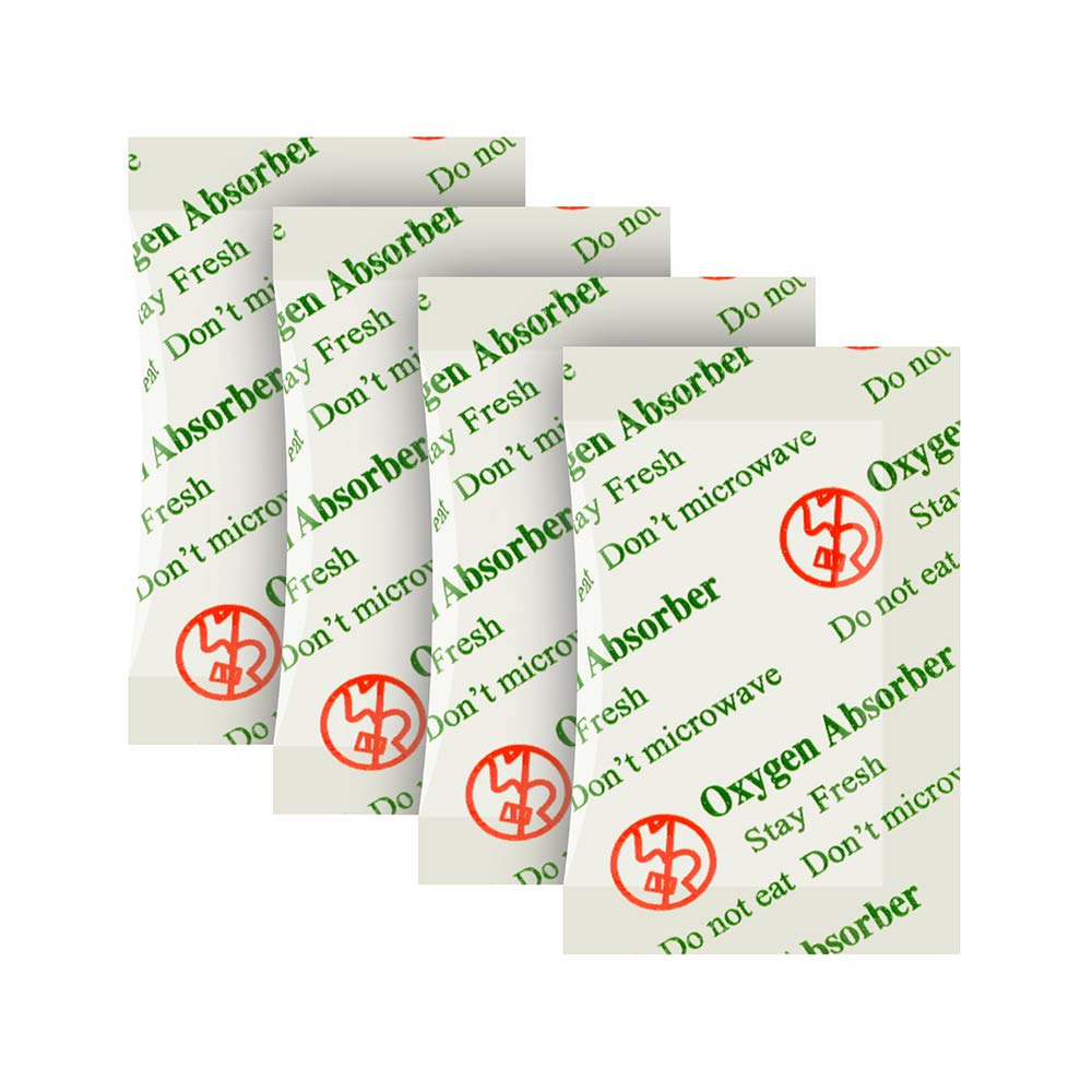 500CC(30-Pack) Food Grade Anti Oil Oxygen Absorbers Packets For Food Storage, Food Grade Oxygen Absorbers Storage Packets With Oxygen Indicator In Vacuum Bag And 3 Times Oxygen Absorption Capacity