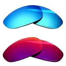 BlazerBuck Anti-salt Polarized Replacement Lenses for Oakley Juliet - 2 Pairs