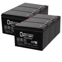 Mighty Max Battery ML7-12 - 12 Volt 7.2 AH SLA Battery (6 Pack)
