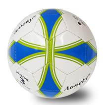 Aoneky Traditional Soccer Ball with Pump