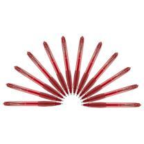 Paper Mate Gel Pens, Medium (0.7mm), Red, 12 Count