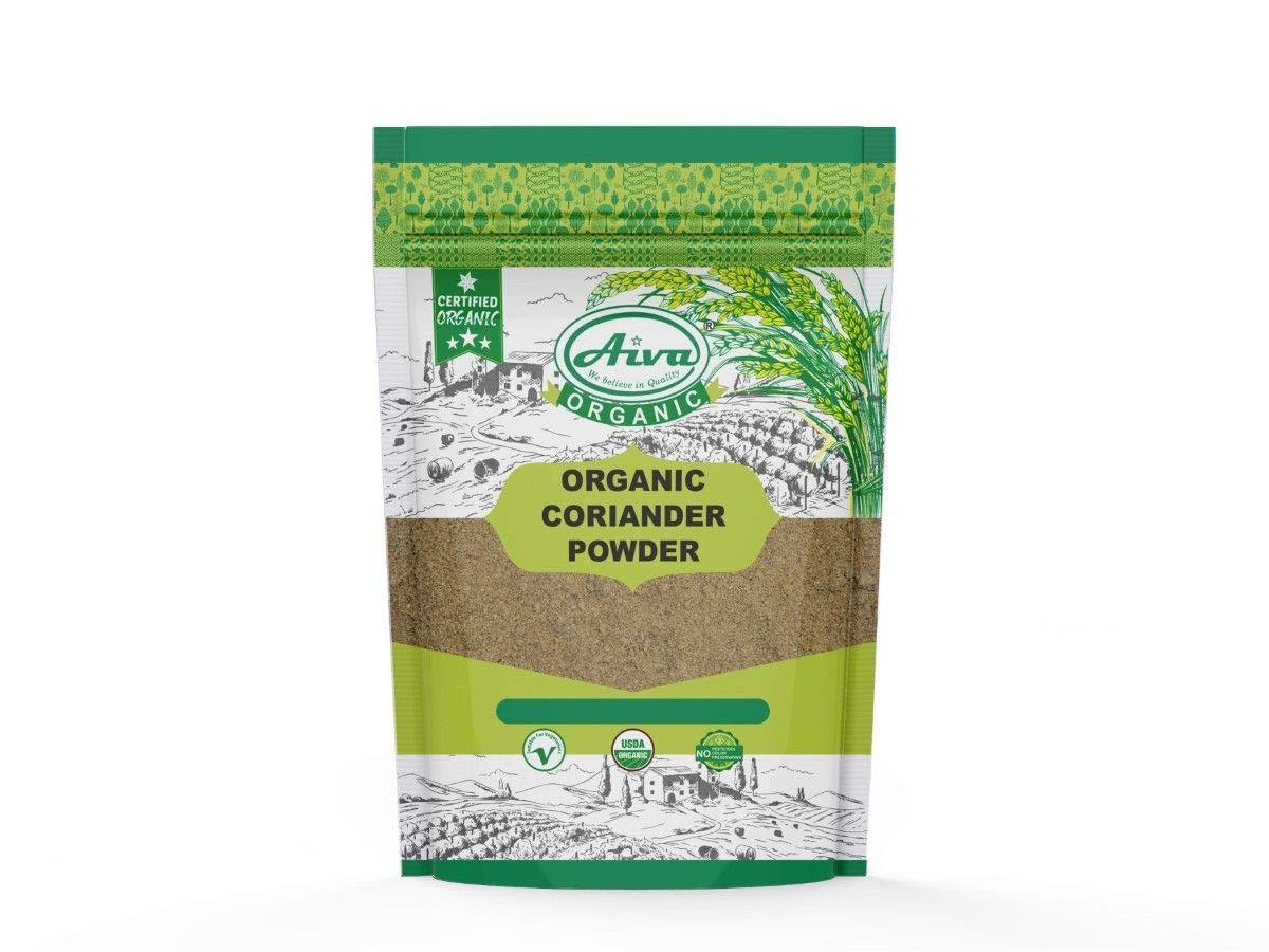 AIVA Organic Coriander Powder (Dhaniya Powder) 7 oz