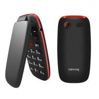 Ushining Unlocked Flip Phone 3G T Mobile Flip Phone Unlocked Big Icon Easy to Use Flip BasicCell Phones Unlocked for Kids or Backup Phone (Black)