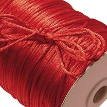 Red Rat Tail Cord 2mm X 200 Yards