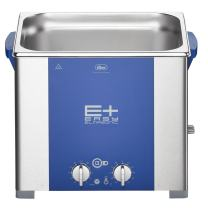 Elmasonic 107 1670 EP100H Ultrasonic Cleaner for Jewelry, Lab/Dental Cleaning with Deep Clean Pulse Mode, Heater/Timer, 2.5 gal Tank Capacity