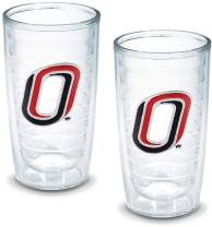 Tervis 1057377 Nebraska University Omaha Emblem Tumbler, Set of 2, 16 oz, Clear
